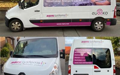 Autobeschriftung narz systems