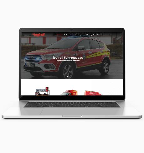 Webseite logiroll
