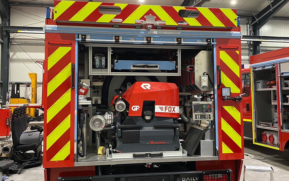 Fahrzeugbeschriftung Feuerwehr Hessen