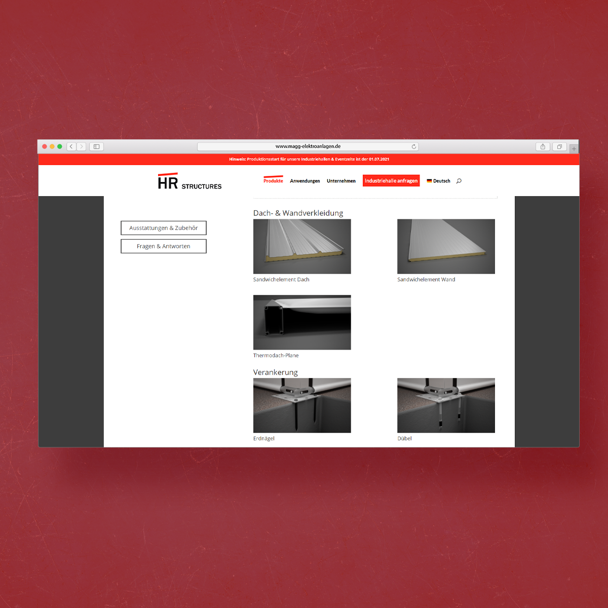 Webdesign FLE media Vogelsberg