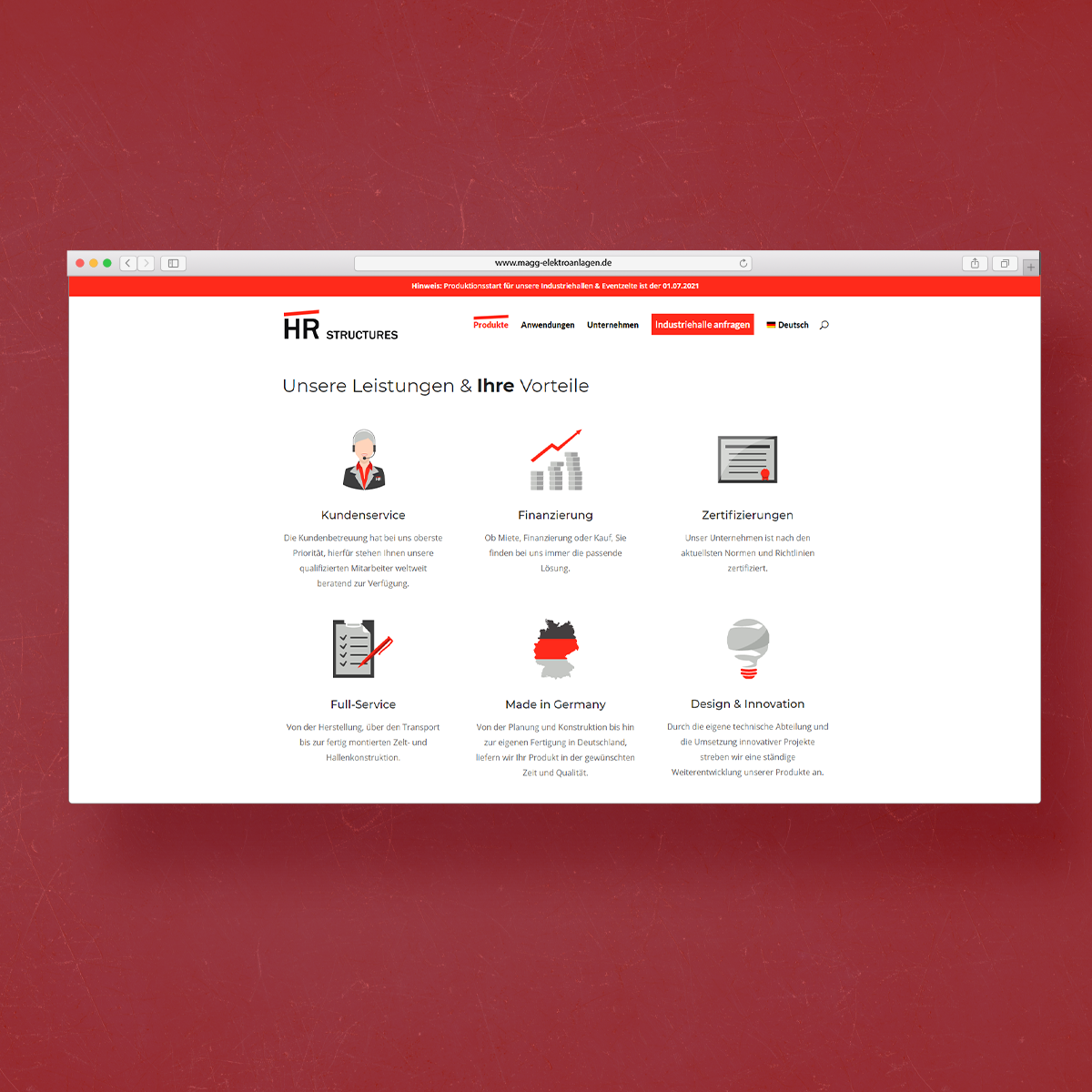 Webdesign FLE media Lautertal