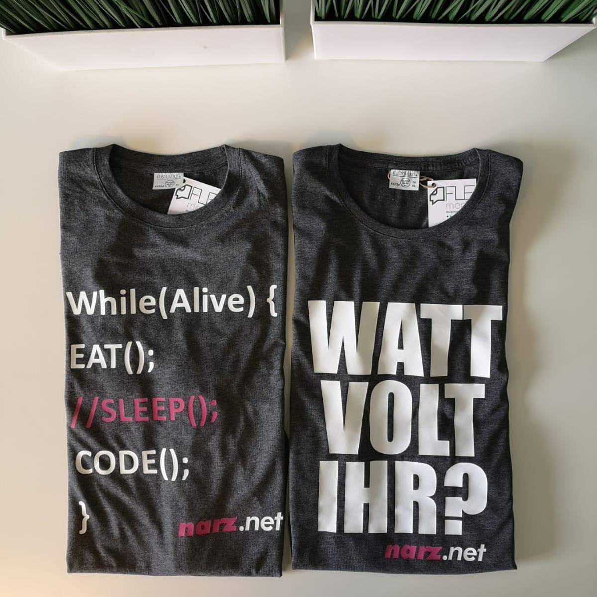T-Shirt bedruckt Herbstein